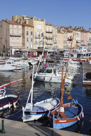 view of harbour saint tropez var