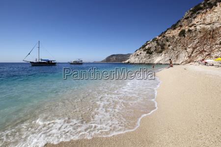 kaputas beach near kalkan lycia antalya