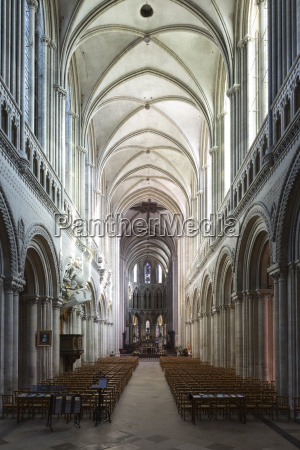 nave of the notre dame cathedral