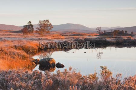loch ba on a frosty morning