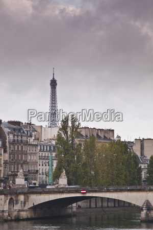 the left bank and the eiffel