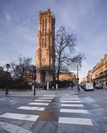 the gothic tour saint jacques paris