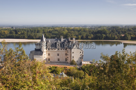 the chateau of montsoreau and the