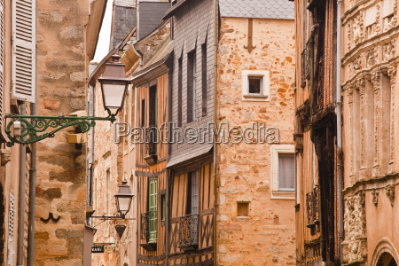 la grande rue in the old