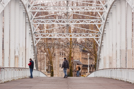the passerelle debilly debilly footbridge an