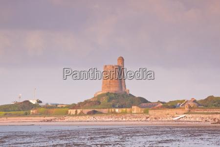 la hougue tower in saint vaast