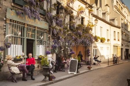 cafe europa horizontal paris frankreich plaetze