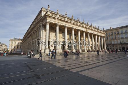 the grand theatre de bordeaux bordeaux