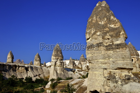 fairy chimneys rock formation landscape near