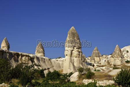 fairy chimneys rock formation landscape near