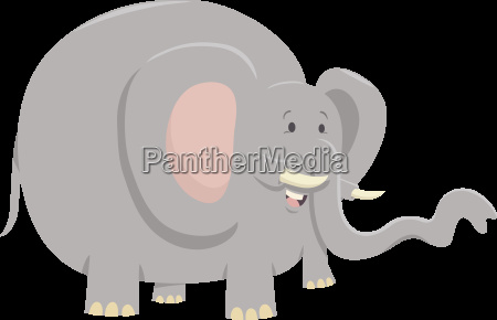 elephant animal character