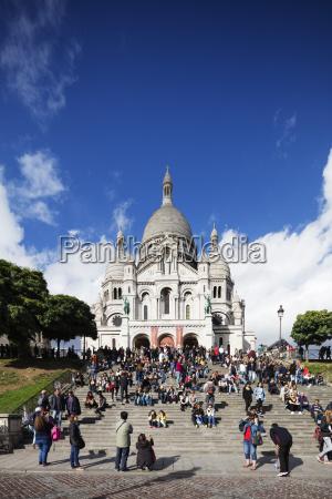 sacre coeur basilica montmartre paris france