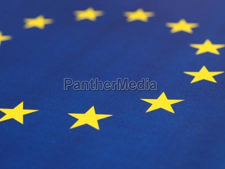 flagge der europaeischen union eu