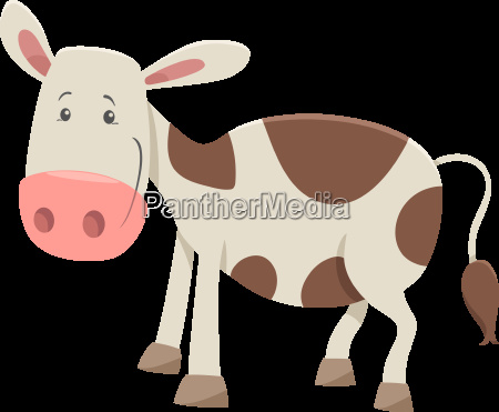 calf farm animal character