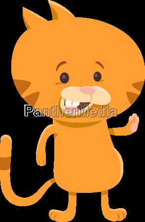 cat cartoon character
