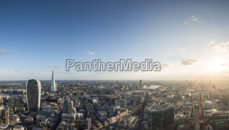 a view of london with 20