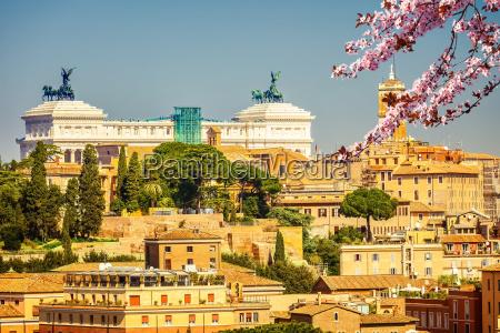 rome at spring italy