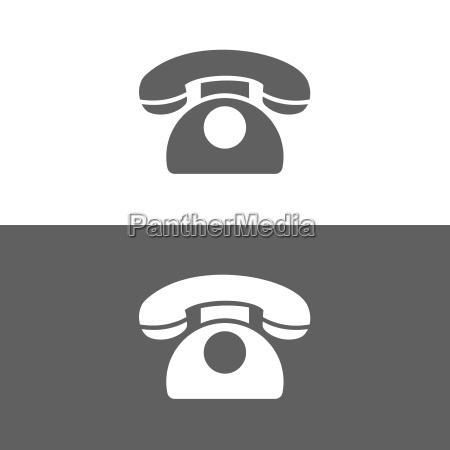 klassisches telefonsymbol
