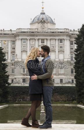 spanien madrid paare die mit royal