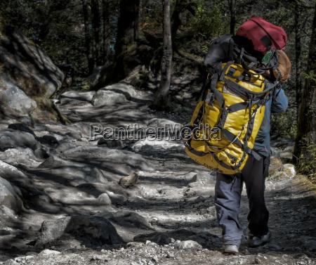 nepal khumbu everest region tengboche nepalese