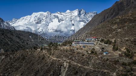 nepal himalaya khumbu pangboche
