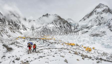 nepal himalayas khumbu everest region everest