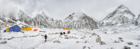 nepal himalayas khumbu everest region everest