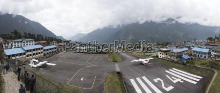 nepal himalaya khumbu everest region lukla