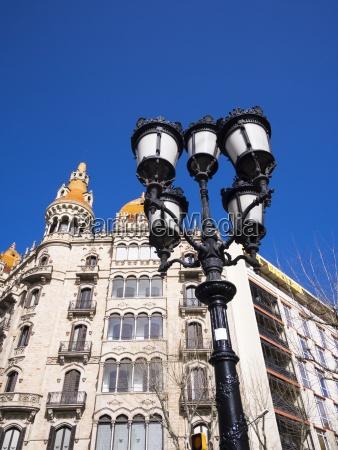spanien katalonien barcelona placa de catalunya