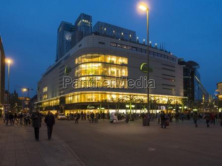 deutschland hessen frankfurt kaufhaus in der