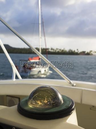 karibik martinique sainte anne kompass auf