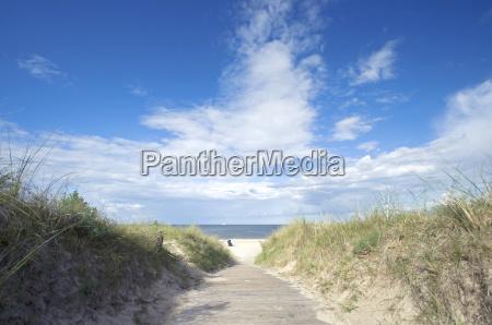 wolke strand sommer sommerlich wasser h2o