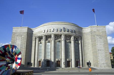germany berlin berlin mitte volksbuehne theater