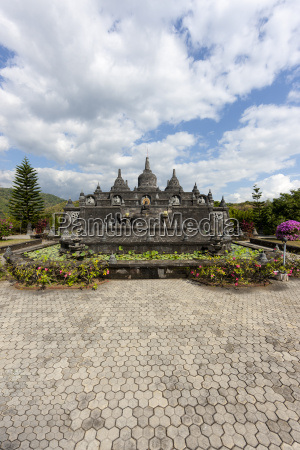 indonesia view of brahma vihara arama