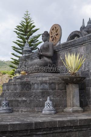 indonesia statue of buddha at brahma
