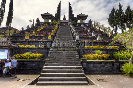 indonesia view of pura penataran agung