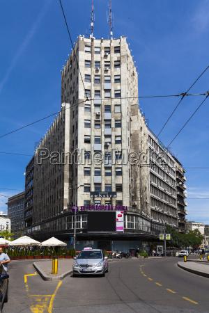 serbia belgrade savski venac office tower