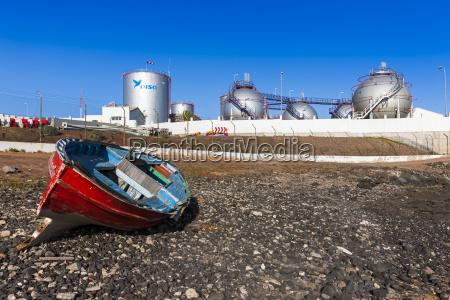 fahrt reisen industrie industrieanlage spanien energie