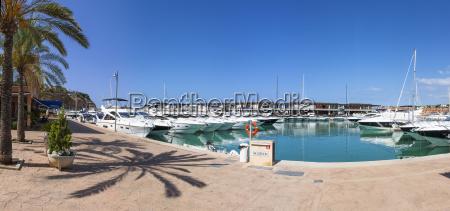spain mallorca view of port adriano