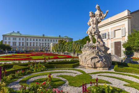 austria salzburg mirabell palace and mirabell