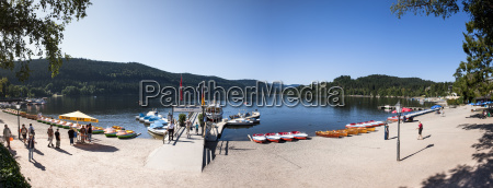 germany baden wuerttemberg titisee neustadt view