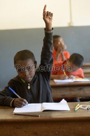 madagaskar schueler der fianarantsoa grundschule