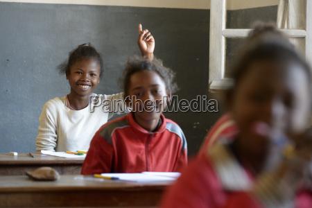 madagaskar schueler in der volksschule fianarantsoa