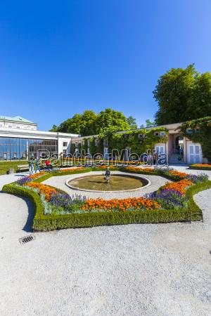 OEsterreichsalzburgorangerie und mirabellgarten