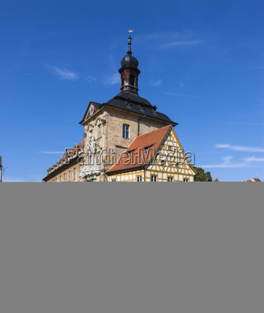 old town hall on the regnitz