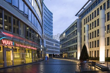 germany hesse frankfurt building complex die