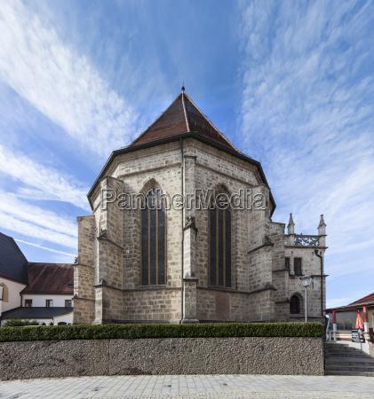germany bavaria altoetting view to collegiate