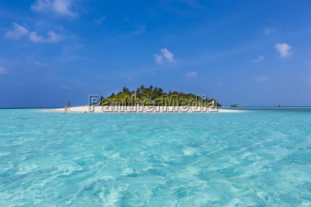 maledives sued male atoll embudu insel