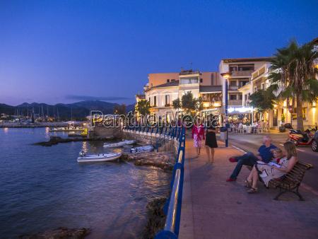 spain mallorca port dandratx restaurants in