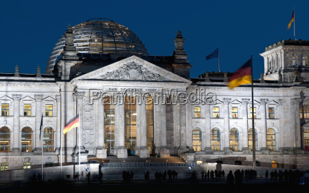 germany berlin view of reichstag building